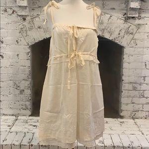 Cream summer dress